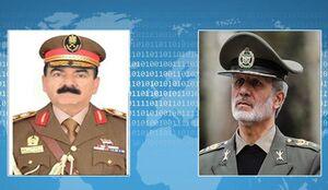 مذاکره ویدئویی وزرای دفاع ایران و عراق