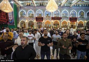 عکس/ احیای شب قدر در حرم شاه شهیدان