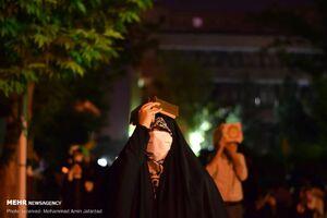 عکس/ شب قدر در مسجد دانشگاه صنعتی شریف
