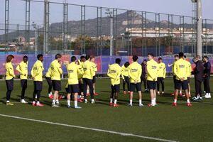 زمان آغاز تمرینات گروهی بارسلونا اعلام شد