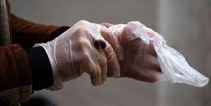 پوشیدن دستکش ویروس کرونا را پخش میکند