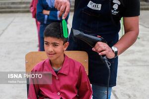 عکس/ آرایشگران جهادی