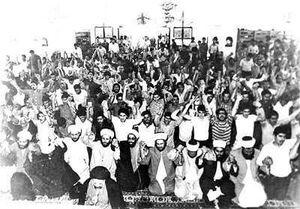 انتفاضه مسلمانان لبنان +عکس