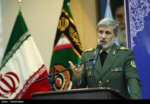 فیلم/ وزیر دفاع: حفظ امنیت تنگه هرمز بر عهده ایران است