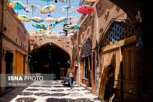 عکس/ بازار «اودلاجان» در روزهای کرونایی