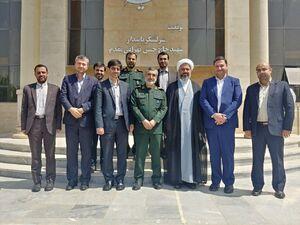 دیدار جمعی از منتخبان مجلس یازدهم با سردار حاجیزاده