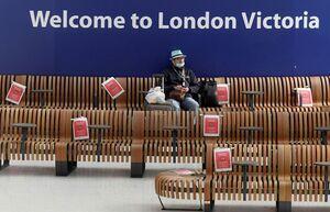 ترمینال ایستگاه راهآهن سراسری لندن
