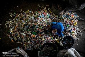 دفن زبالههای کرونایی تهران +عکس