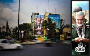شهید سلیمانی در غبارروبی حرم مطهر رضوی+ فیلم