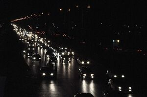 فیلم/ بارش شدید باران در تهران