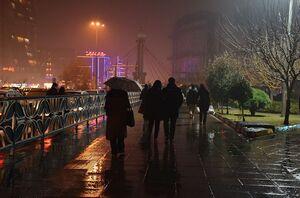 فیلم/ جاری شدن سیل در خیابانهای پایتخت