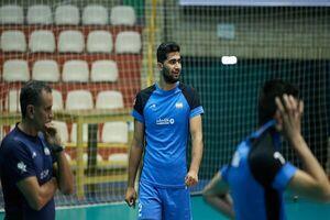 ملی پوش والیبال ایران به تیم بلژیکی پیوست