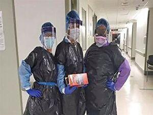 اعتراض پزشک آمریکایی به تجهیزات پزشکی+ فیلم