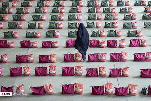 عکس/ «سفره مهربانی» امام رضا (ع) در تهران