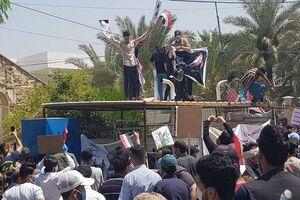 حمله به شبکه امبیسی در عراق+ عکس