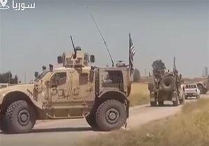 فیلم/ مقابله ارتش سوریه برابر کاروان نظامی آمریکا