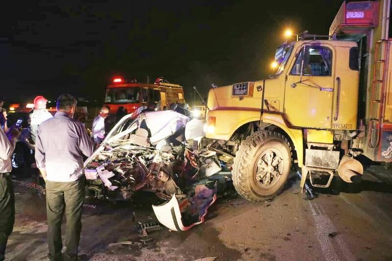 امام جمعه شهر کمشچه در حادثه رانندگی جان باخت