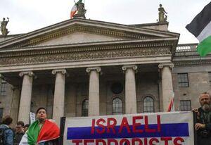 فیلم/ نهضت ایرلندیها علیه اسرائیل