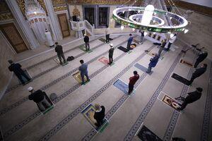 عکس/ آغاز مجدد برگزاری نماز جماعت برلین