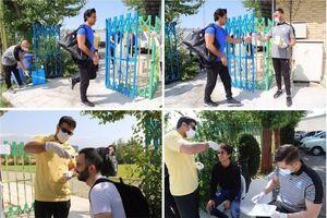 عکس/ معاینه بازیکنان استقلال قبل از تمرین