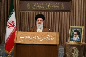 سخنان رهبر معظم انقلاب اسلامی بهمناسبت روز جهانی قدس نمایه