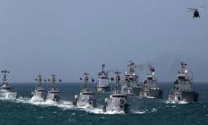 فیلم/ خوشآمدگویی نیروی دریایی ونزوئلا به سرنشینان نفتکش ایرانی
