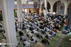 عکس/ اولین نماز جمعه استان تهران پس از ۱۲هفته