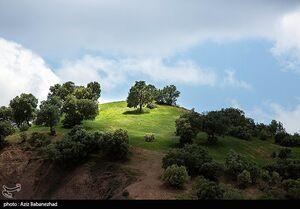 عکس/ صخرههای سر به فلک کشیده مهراب کوه