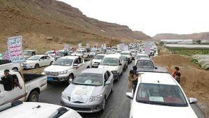 عکس/ راهپیمایی عظیم خودروها در یمن