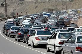 طرح ترافیک تهران در سال 58+ عکس