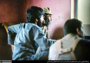 رهبر انقلاب و شهید جهان آرا در خرمشهر
