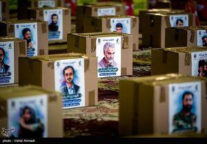 عکس/ کمکهای مومنانه فرماندهان و کارکنان ستاد کل سپاه