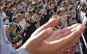 فیلم/ برگزاری نماز عیدفطر با رعایت پروتکلها