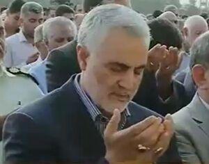 فیلم/ اولین عید فطر بدون سردار