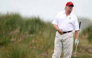فیلم/ بحران کرونا و گلف بازی ترامپ!