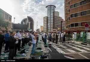 عکس/ نماز عید فطر در محله مسجد لولاگر