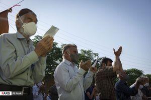 عکس/ برگزاری نماز عید فطر در سمنان
