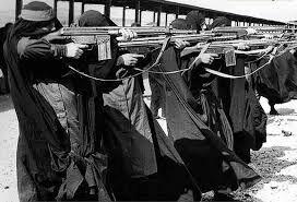 دستور آموزش نظامی به زنان خرمشهری+ عکس