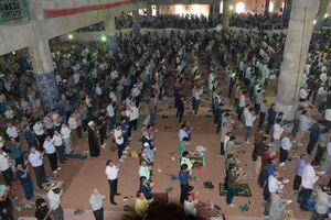 تلمیح زیبا از عدم برگزاری نماز عید توسط رهبری؟+ عکس