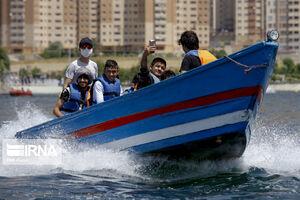عکس/ بازگشایی دریاچه شهدای خلیج فارس
