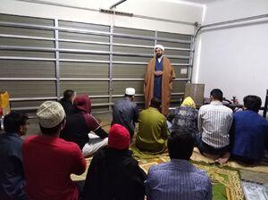عکس/ نماز عید فطر در خانه