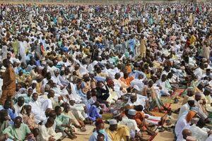 عکس/ نماز عید فطر در نیجریه