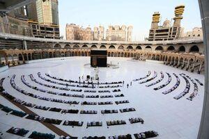 عکس/ نماز عید فطر در مکه