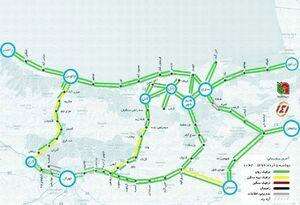 آخرین وضعیت ترافیک جادههای شمال کشور+عکس