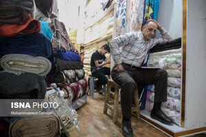 عکس/ کسادی این روزهای بازار شیراز