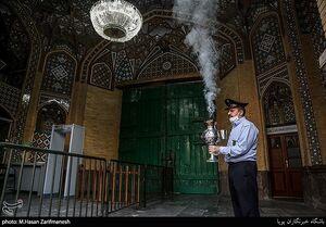 عکس/ بازگشایی حرم مطهر حضرت عبدالعظیم(ع)