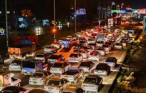 ترافیک سنگین در شهرهای عبوری شرق استان تهران