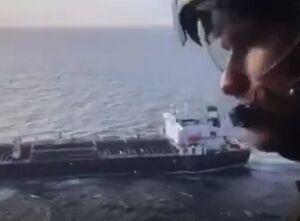 فیلم/ اسکورت نفتکش ایرانی از هوا و دریا