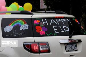 جشن عید فطر در واشنگتن