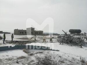 عکس/ سقوط مرگبار بالگرد در روسیه